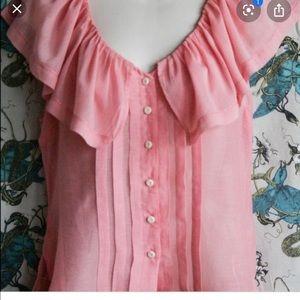 Anthropologie moulinette soeurs blouse size 4